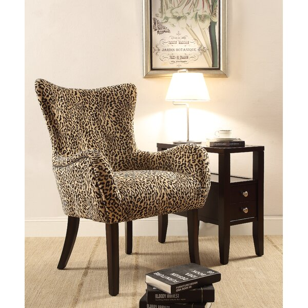 Galloway Wingback Chair by Bloomsbury Market