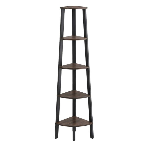 Oquendo Industrial Ladder Bookcase by Williston Forge