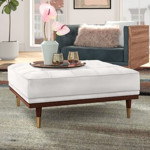 Ledger Tufted Cocktail Ottoman