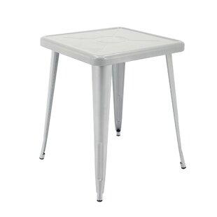 Feliz Indoor and Outdoor Rust-Resistant Metal Restaurant Coffee Table