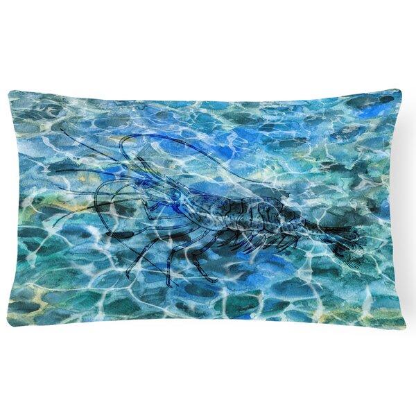 Colindale Shrimp Under water Lumbar Pillow by Latitude Run