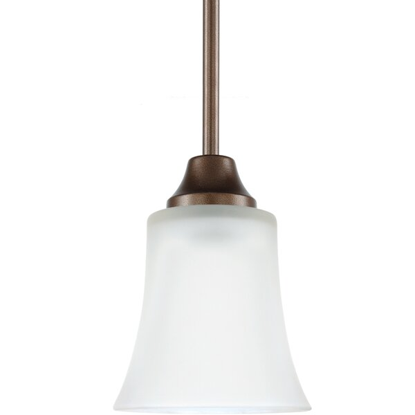 Buren 1-Light Cone Pendant by Darby Home Co