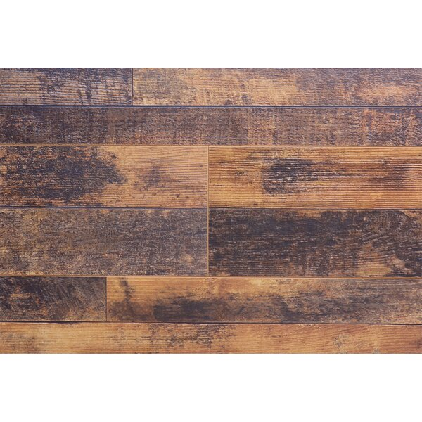 Barnwood Country 7.5 x 72 x 12.3mm Elm Laminate Flooring (Set of 22) by Serradon