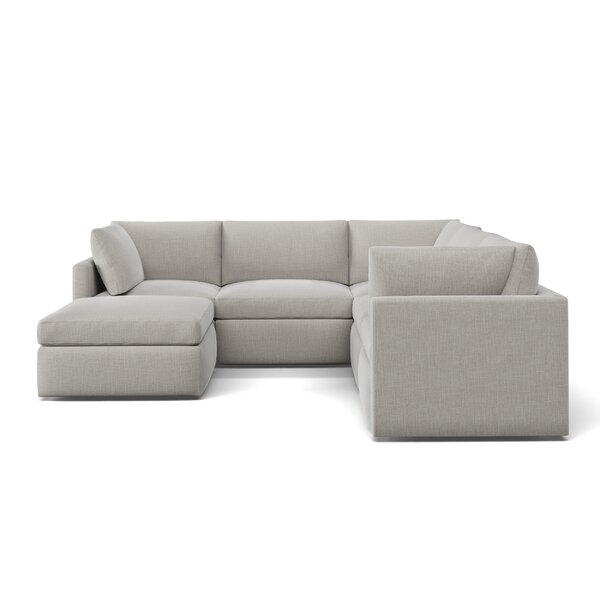 Bailee U-Shaped Modular Sectional With Ottoman By Foundstone