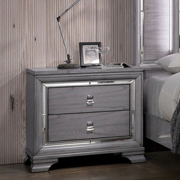 Bryton 2 Drawer Nightstand by Everly Quinn