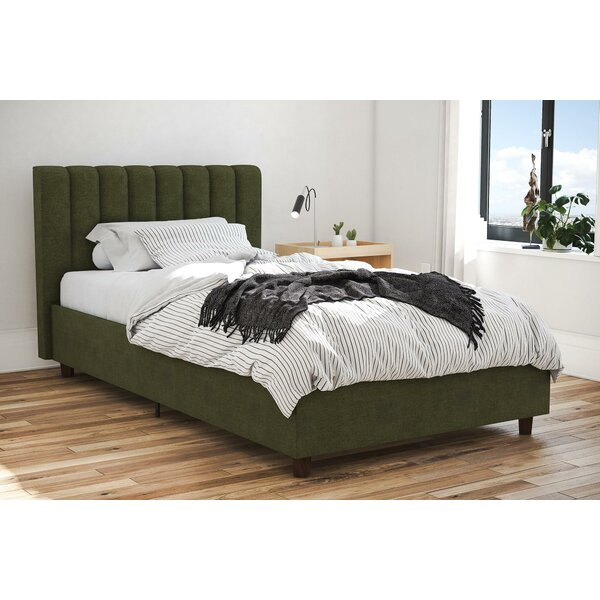 Brittany Upholstered Platform Bed By Novogratz by Novogratz Today Sale Only
