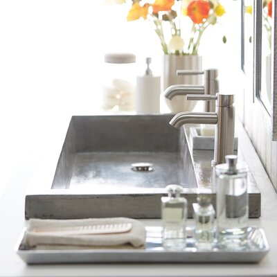 Sink Faucet Rectangular Mount Single Faucet Hole 187 Product Photo