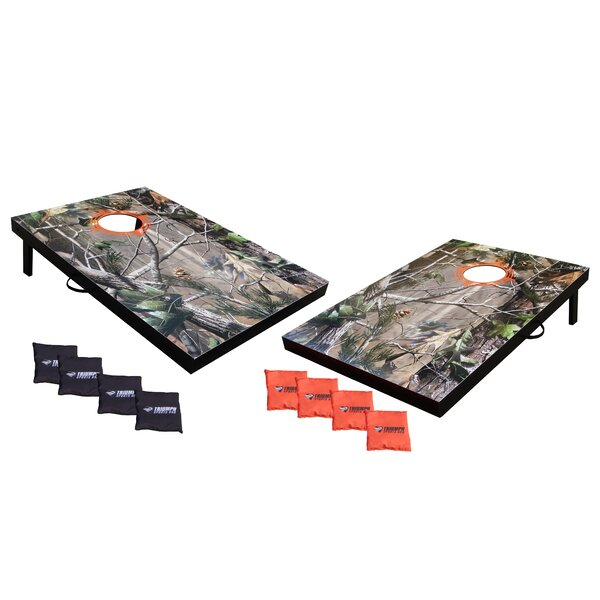 Realtree Advanced Tournament Bean Bag Toss Full Board Style by Triumph Sports USA