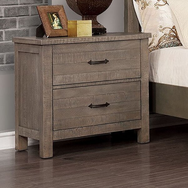 Rimmer 2 Drawer Nightstand by Gracie Oaks