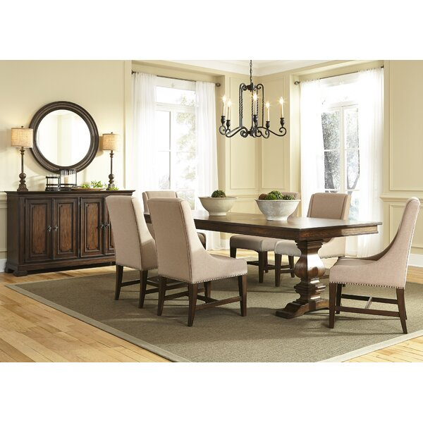 Knight 7 Piece Solid Wood Dining Set by Birch Lane™ Heritage