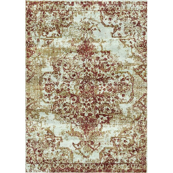 Aliza Handloom Brown Area Rug by Bungalow Rose