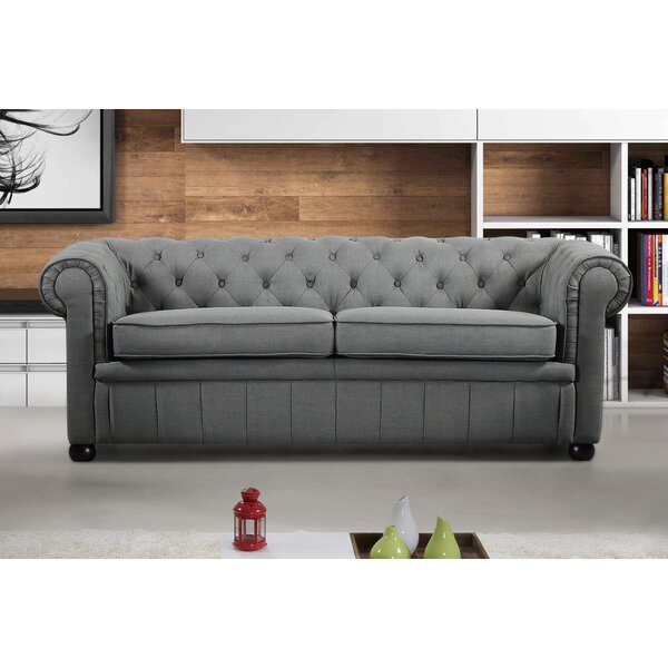 Mikkelson Chesterfield Sofa by Alcott Hill