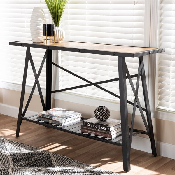 Alegria Vintage Rustic Console Table By Williston Forge