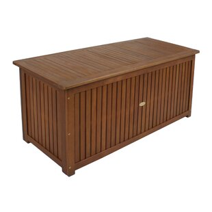 Bon Washington Wooden Outdoor Storage Deck Box