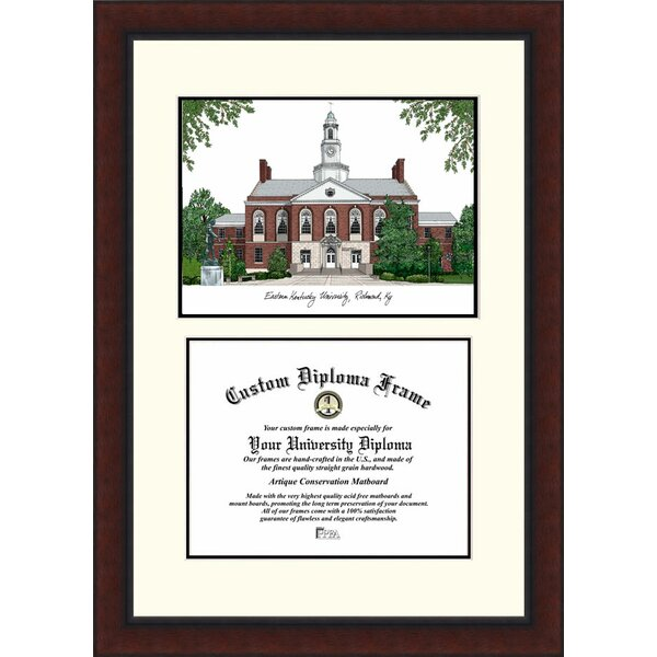 NCAA Eastern Kentucky University Legacy Scholar Diploma Picture Frame by Campus Images