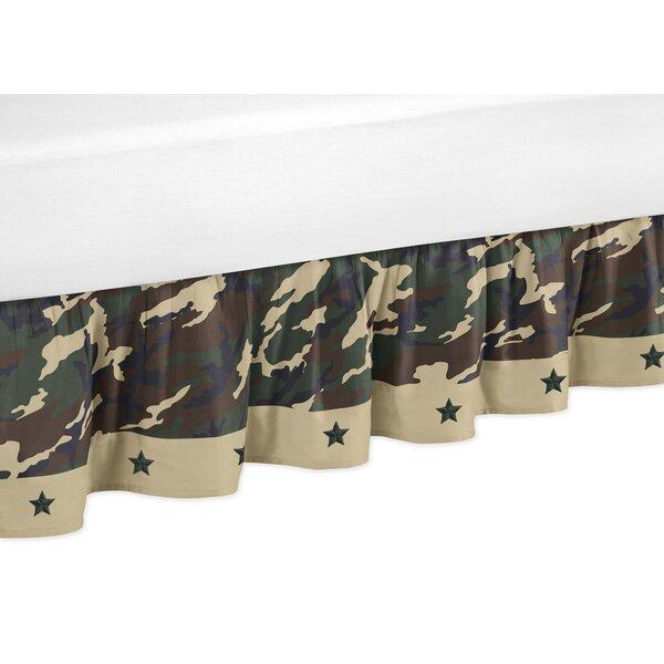 Camo Toddler Bed Skirt by Sweet Jojo Designs