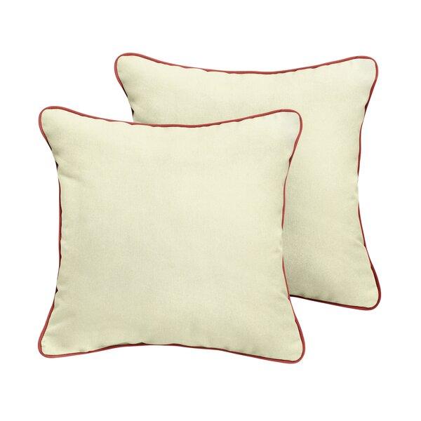 Cowley Sunbrella Outdoor Throw Pillow (Set of 2) by Red Barrel Studio