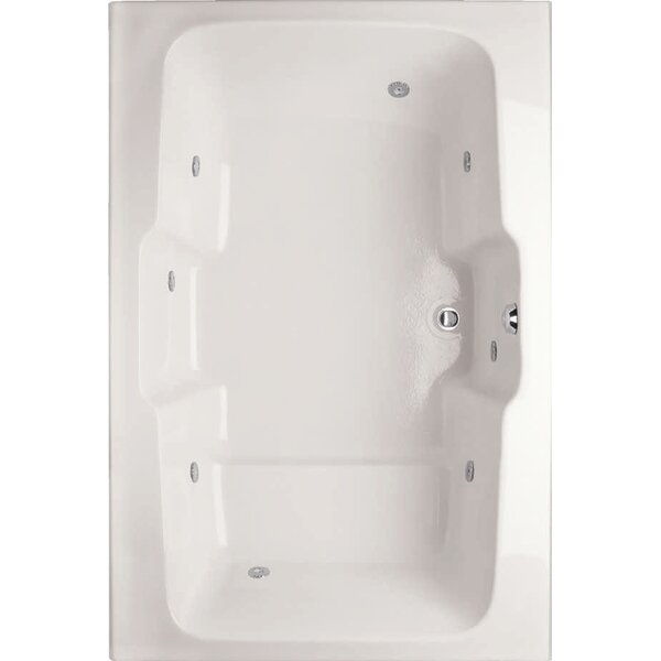 Designer Victoria 73 x 48  Soaking Bathtub by Hydro Systems