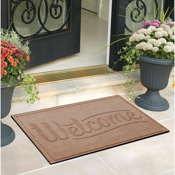 Amald Simple Welcome Doormat by Red Barrel Studio