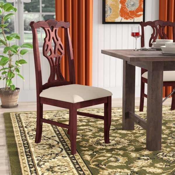 Jaylon Solid Wood Dining Chair by Darby Home Co