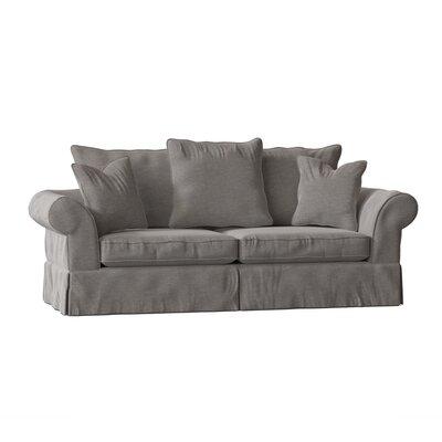 """Bleckley 98"""""""" Rolled Arm Sofa Body Fabric: Sunbrella Flagship Pewter -  BirchLane, B23C3900C98A4F4A8FB6020C426B03B5"""