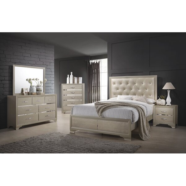 Lawrence Hill Upholstered Standard Bed by House of Hampton