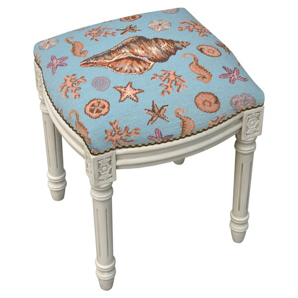 Harwich Accent Stool by 123 Creations