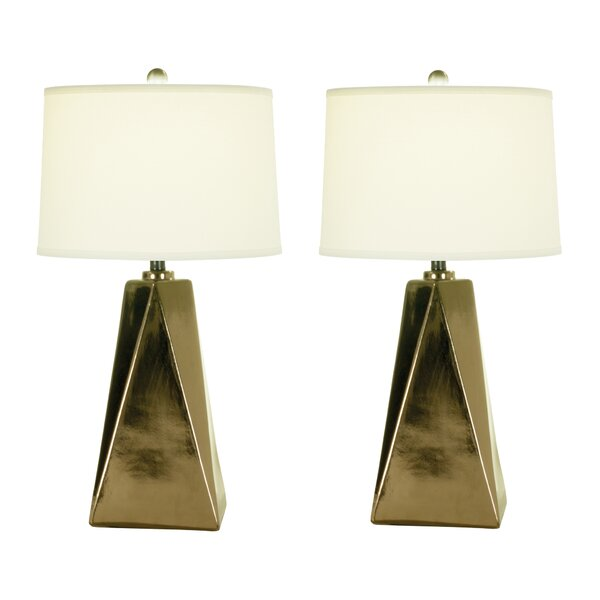 Sadye 28 Table Lamp (Set of 2) by Everly Quinn