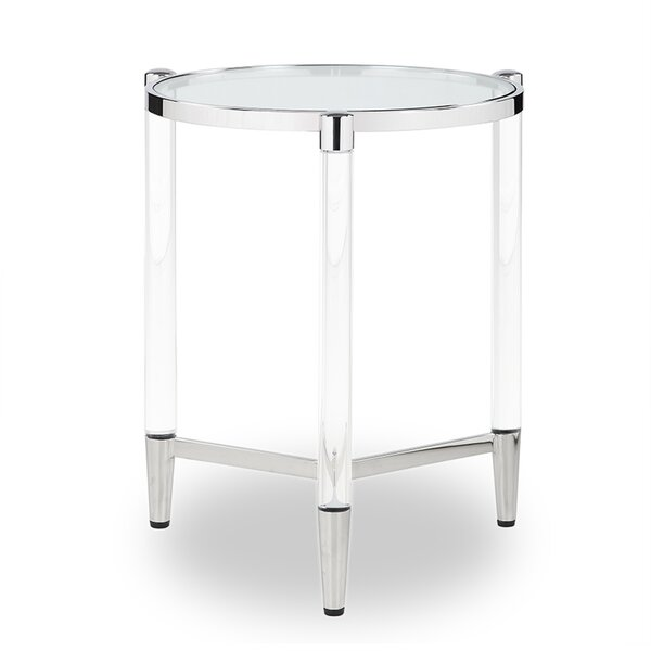 Nadene End Table by Orren Ellis