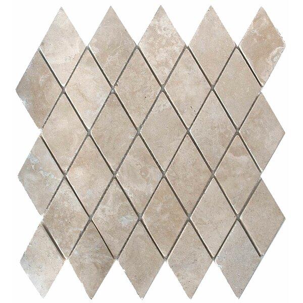 Durango 2 x 2 Travertine Mosaic Tile in Unpolished Durango by MSI