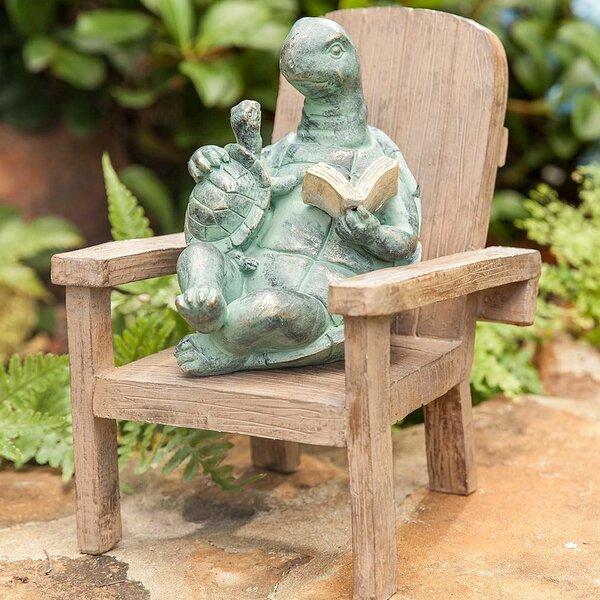 Large Turtle Garden Statue | Wayfair