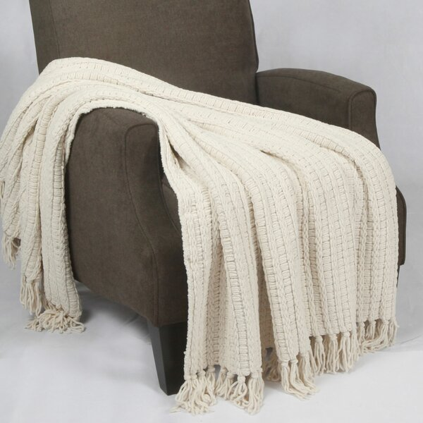 Mortensen Knitted Throw Blanket by Three Posts