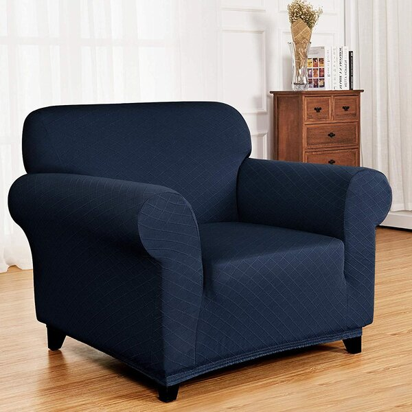 Home & Outdoor Ultra Soft T-Cushion Armchair Slipcover