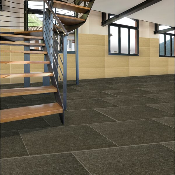 Spectrum 12 x 24 Porcelain Fabric Look/Field Tile in Syrma by Emser Tile