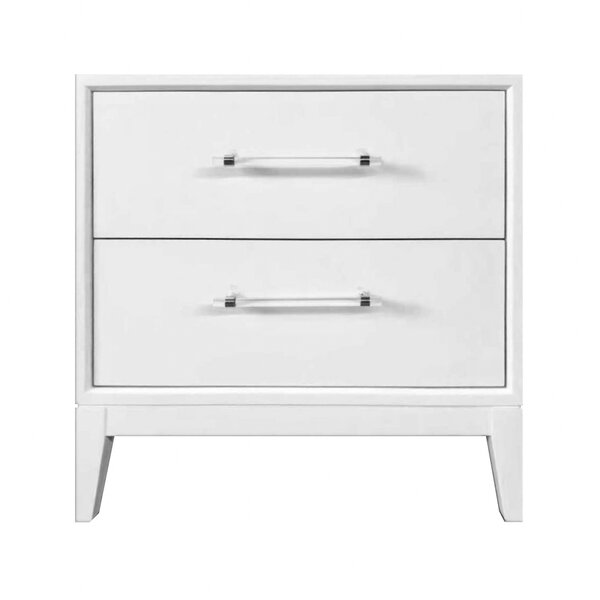 Kaivhon 2 Drawer Nightstand by Latitude Run