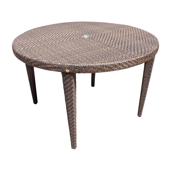 Ferrero Glass Dining Table by Andover Mills