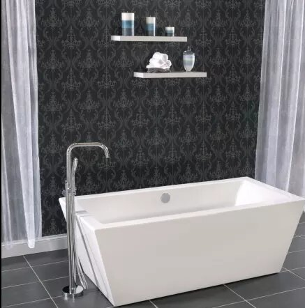 33 x 31.5 Freestanding Soaking Bathtub by Miseno
