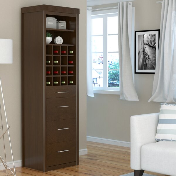 Chicago Tower Cabinet 3 Drawer Accent Chest by Canora Grey