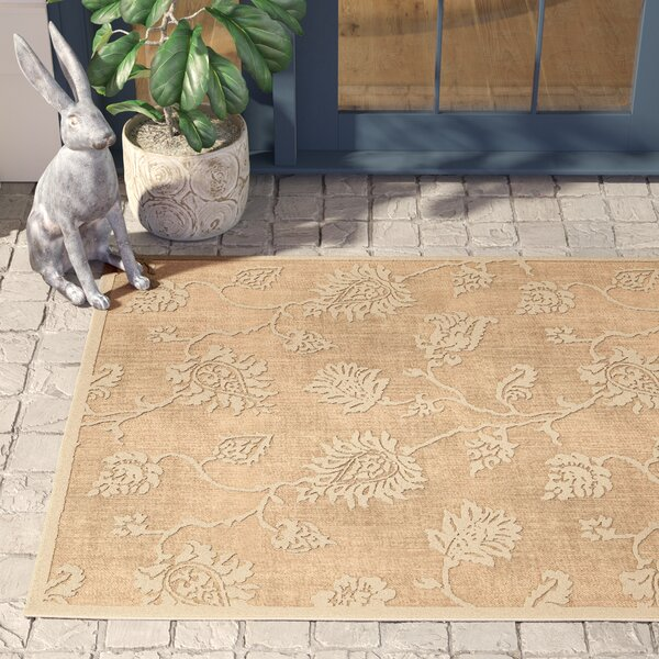 Gaither Khaki Indoor/Outdoor Area Rug By Birch Lane™ Heritage