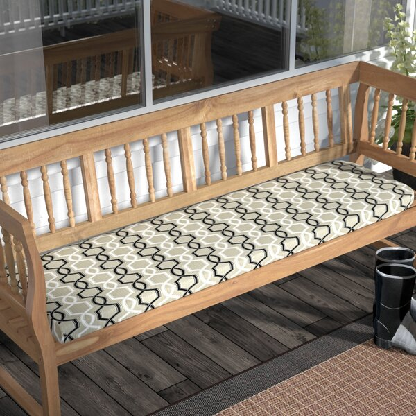 Bank Indoor/Outdoor Bench Cushion by Darby Home Co