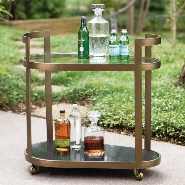 Regan Bar Cart by Global Views Global Views