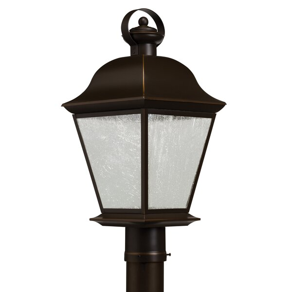 Darrah Outdoor 1-Light LED Lantern Head by Three Posts
