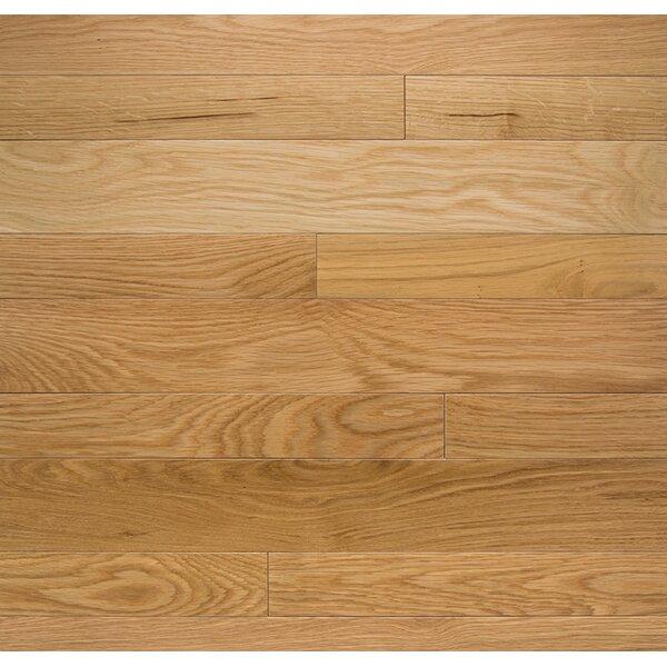 Color Plank 3-1/4 Engineered Oak Hardwood Flooring in White Oak Natural by Somerset Floors
