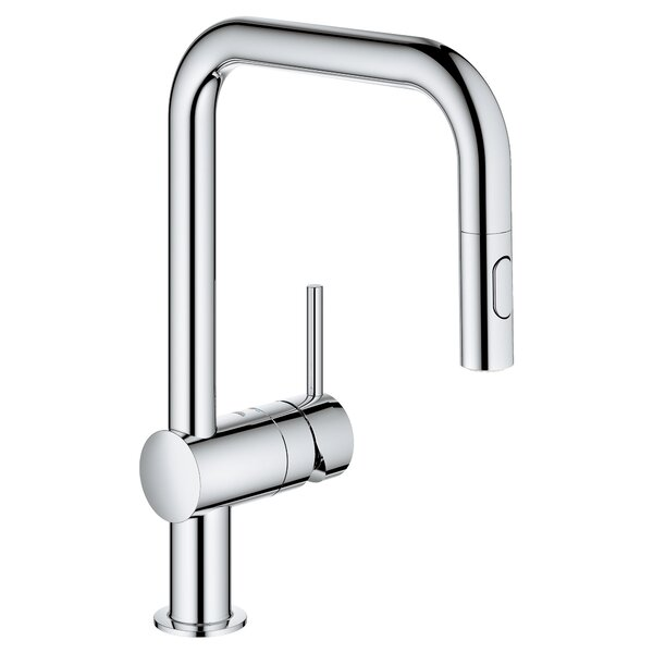 Minta Dual Spray Single Handle Kitchen Faucet by GROHE GROHE