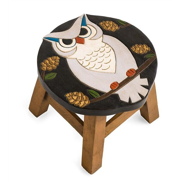 Owl Accent Stool by Plow & Hearth