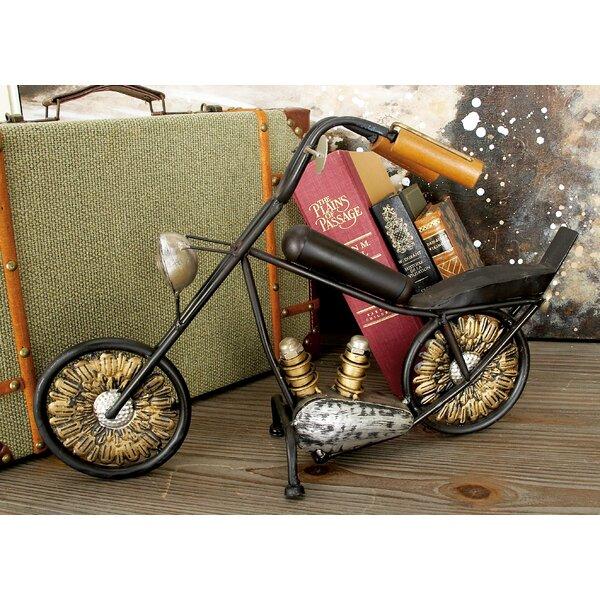 Metal Wood Motorcycle by Cole & Grey
