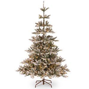 imperial 75u0027 spruce artificial christmas tree with 450 clear lights