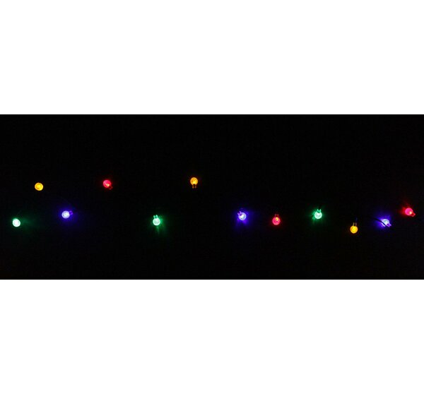 240 Light LED Globe Christmas Light String by Penn Distributing