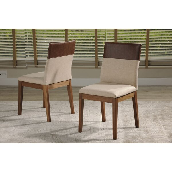 Tarvin Upholstered Dining Chair (Set of 2) by Union Rustic