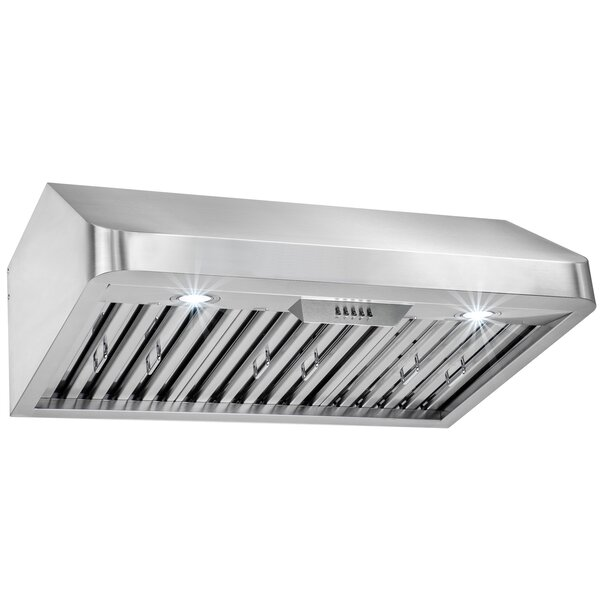 30 492 CFM Ducted Under Cabinet Range Hood by AKDY